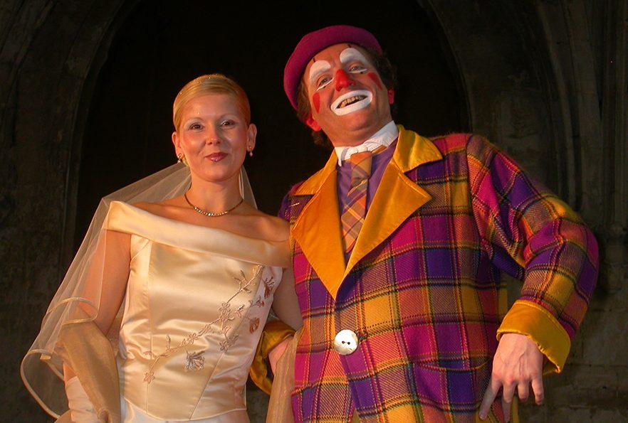 Clown de mariage