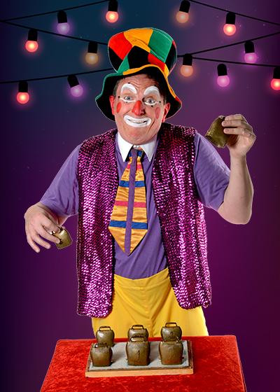 Contact clown Guignolo