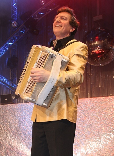 accordéoniste musette