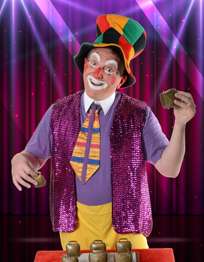 Spectacle de clown rigolo