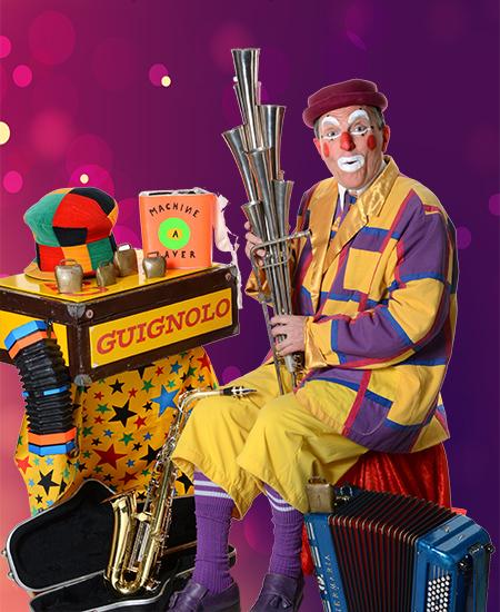 Spectacle de clown rigolo Paris