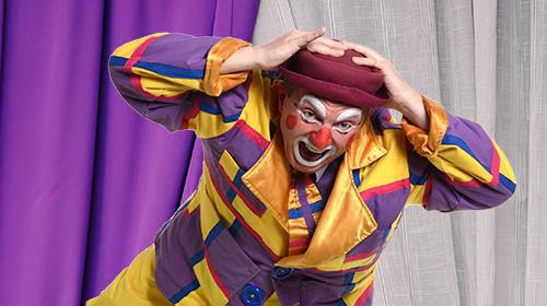 Chute de clown