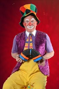 Clown au chapeau