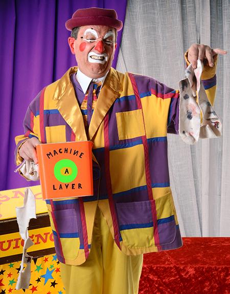 clown rigolo