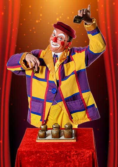clown de Noël