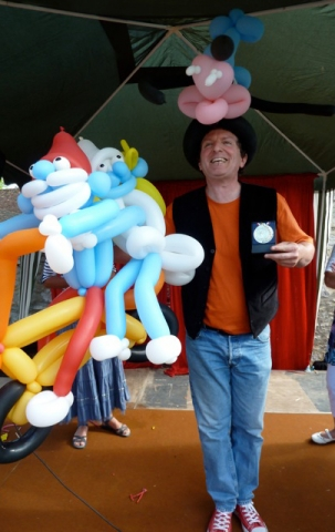 sculpture-ballon-schtroumpfs