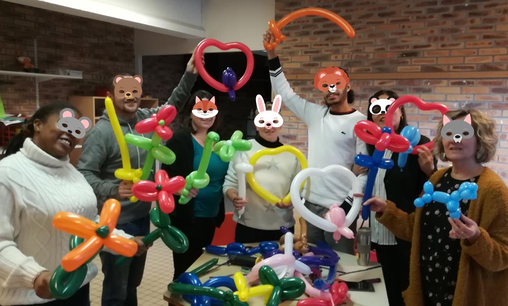 sculpture ballons adultes
