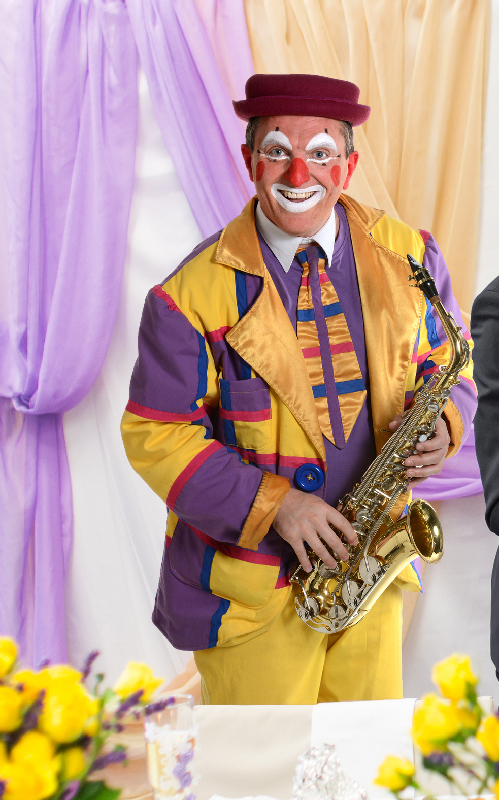 animation clown mariage