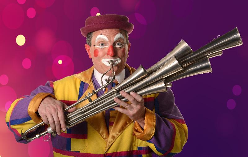 guignolo clown musicien